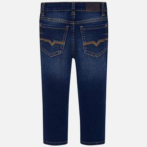 Dark Denim Slim Pants