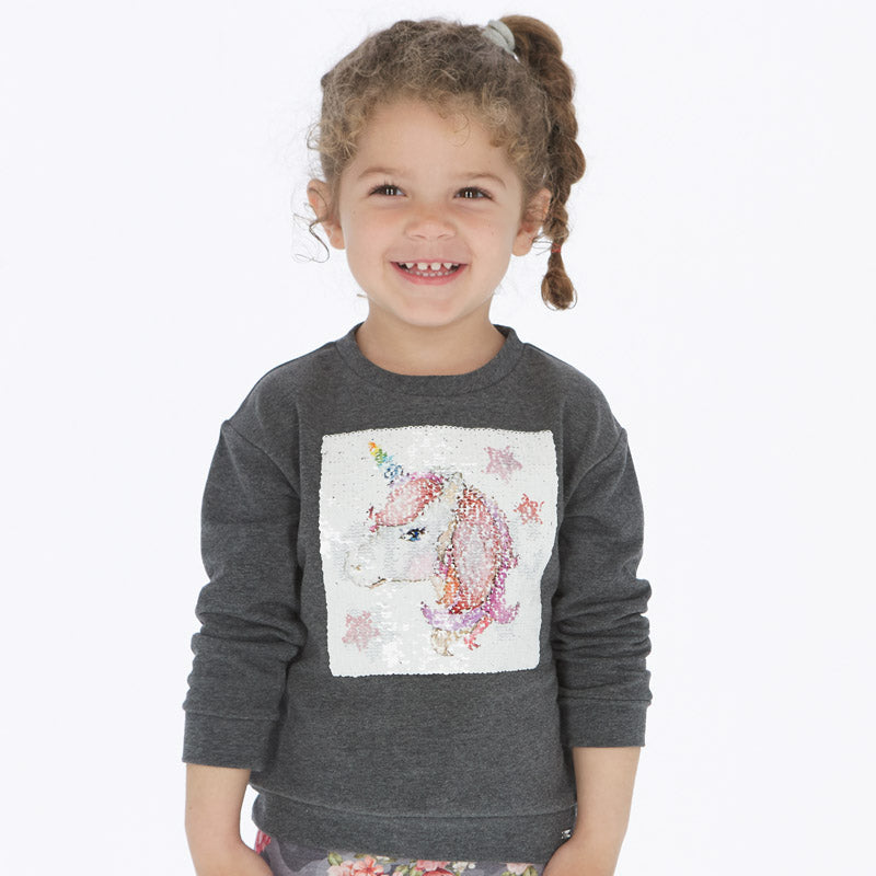 Unicorn & Magic Reversible Sequin Sweater