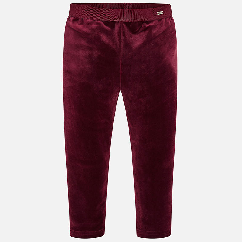 Velvet Legging - Ruby