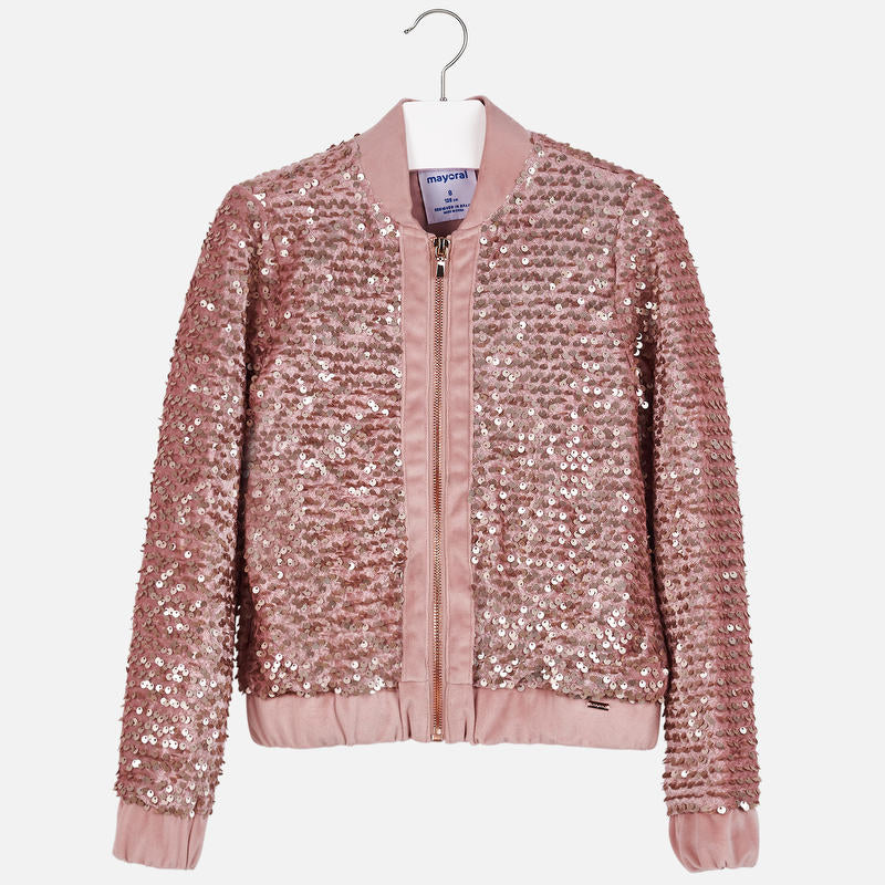 Pink Sequin Jacket