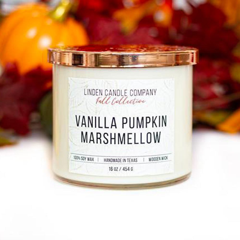 Vanilla Pumpkin Marshmellow 16oz Candle