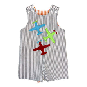 Bailey Boys - Airplanes vs Beetle ~ Reversible John John - kkgivingtree - K&K's Giving Tree