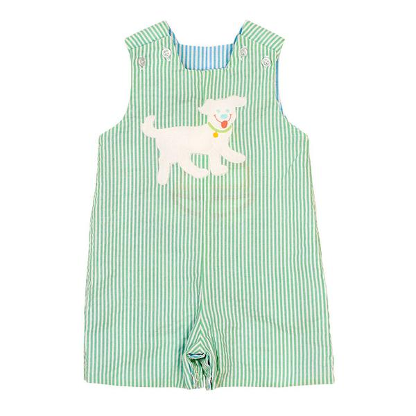 Bailey Boys - Sailboat vs Dog ~ Reversible John John - kkgivingtree - K&K