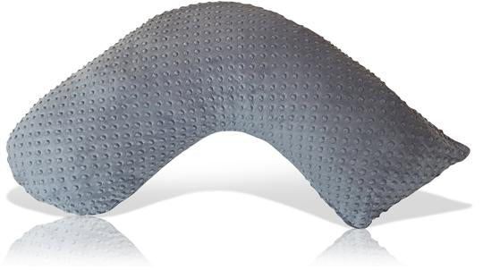 Luna Lullaby Bosom Baby Nursing Pillow - Grey Dot