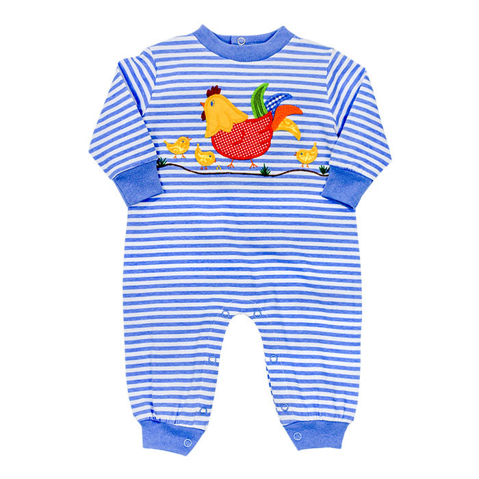 The Chicken Collection Boys Coe Romper