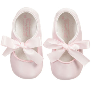 Pink Ribbon Pre-Walker Shoes