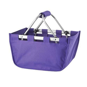 Purple Mini Market Tote - Perfect Carry All Size - K&K's Giving Tree