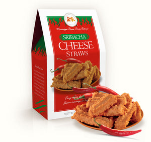 Sriracha Cheese Straws 6.5 oz. Carton