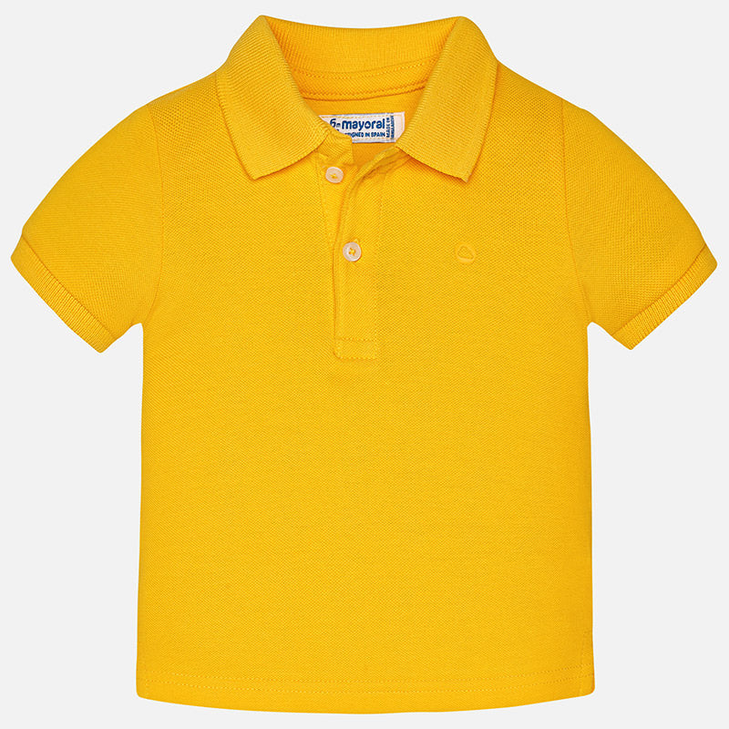 Sun Yellow Short Sleeve Polo Shirt