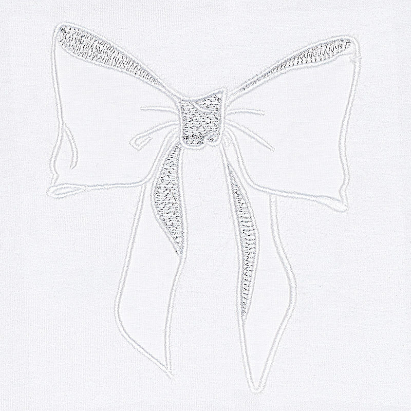 White Bow T-Shirt