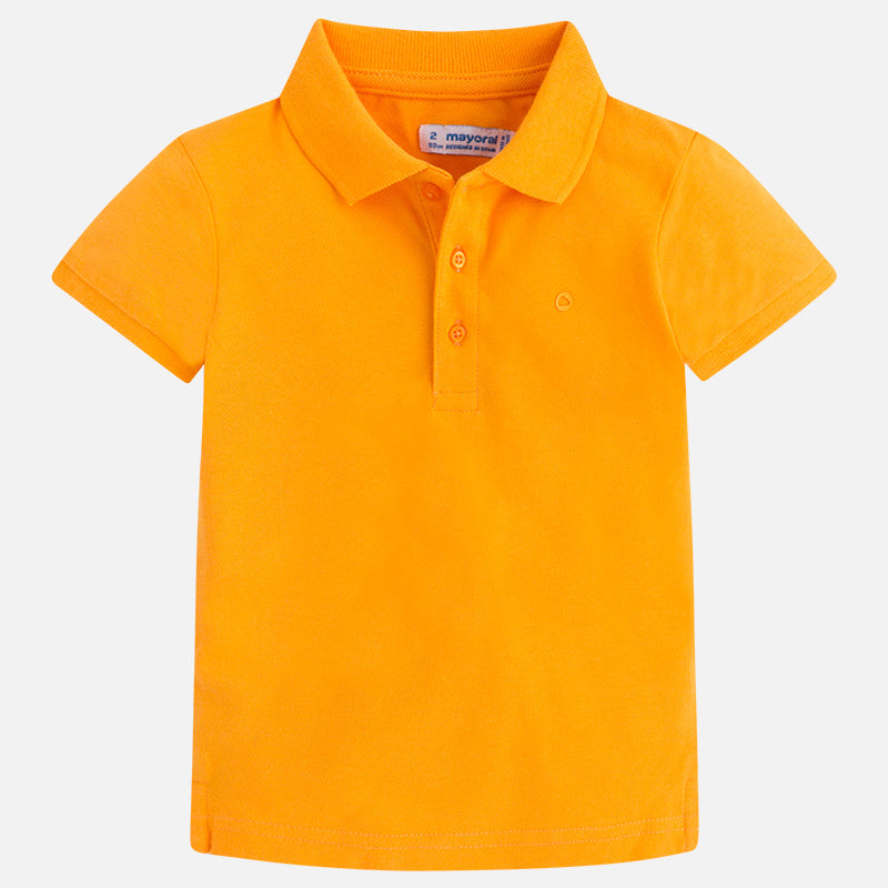 Bumble Bee Orange Short Sleeve Polo Shirt
