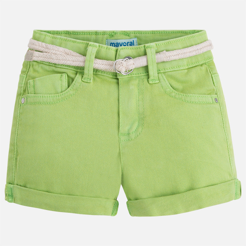 Kiwi Shorts with Belt