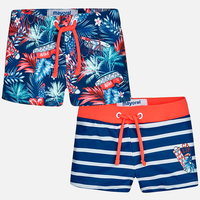 Tropical Swim Brief Set of 2