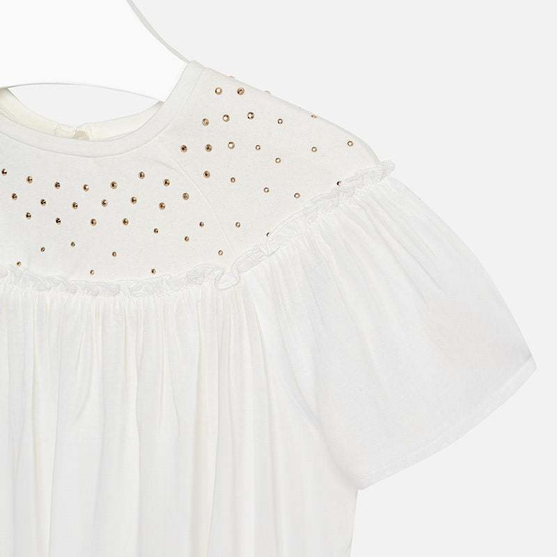 Gold Studded Flowy Top