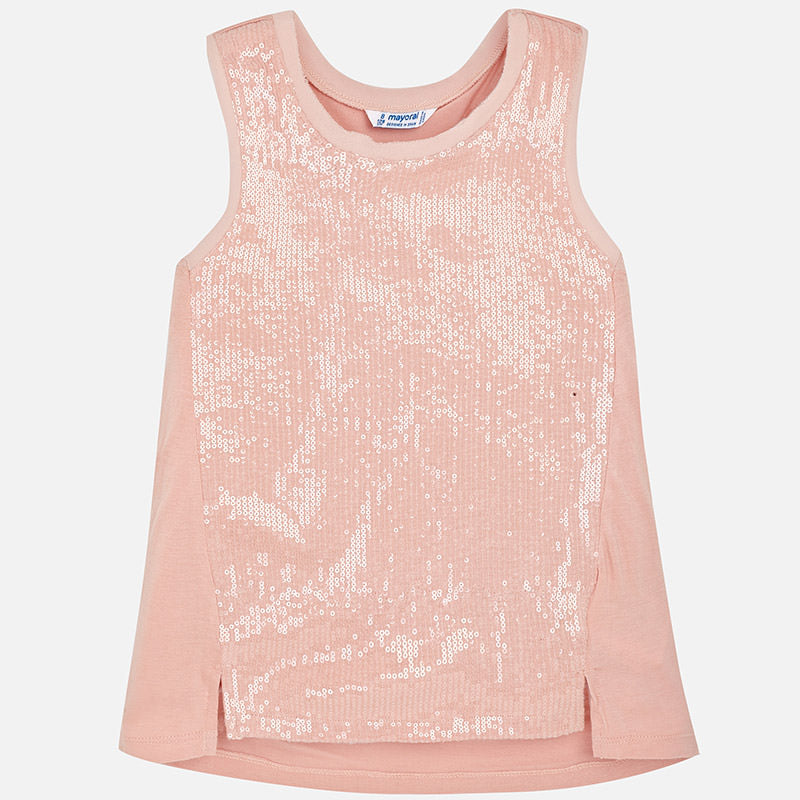 Blush Sequin Top