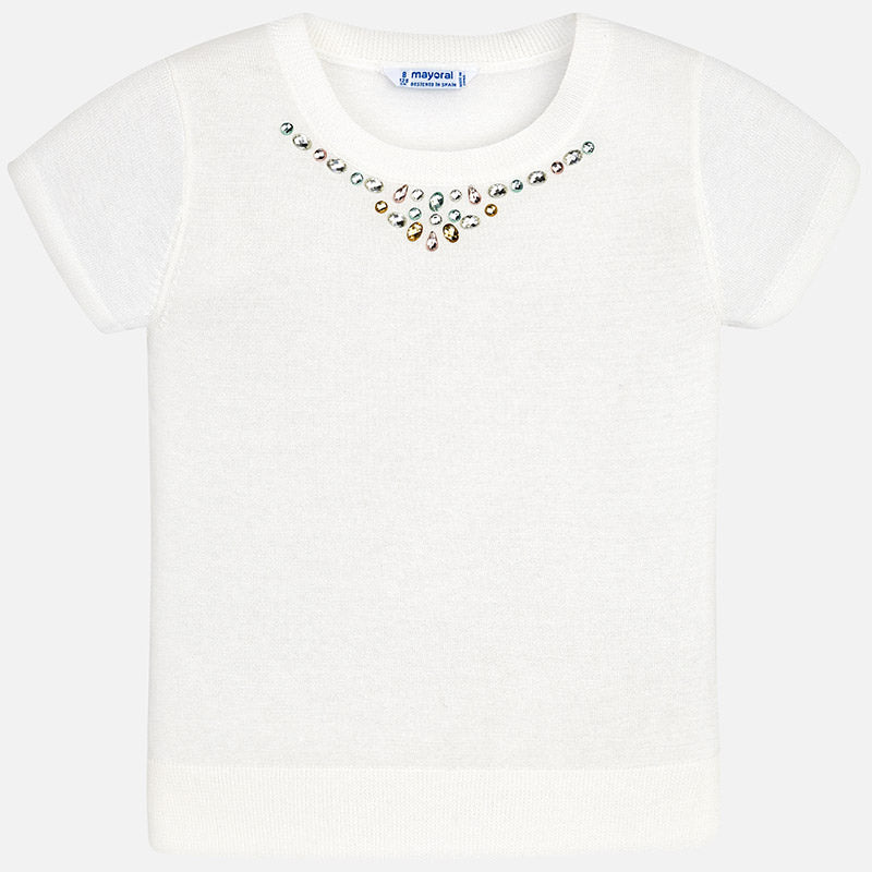 Ivory Jewel Top
