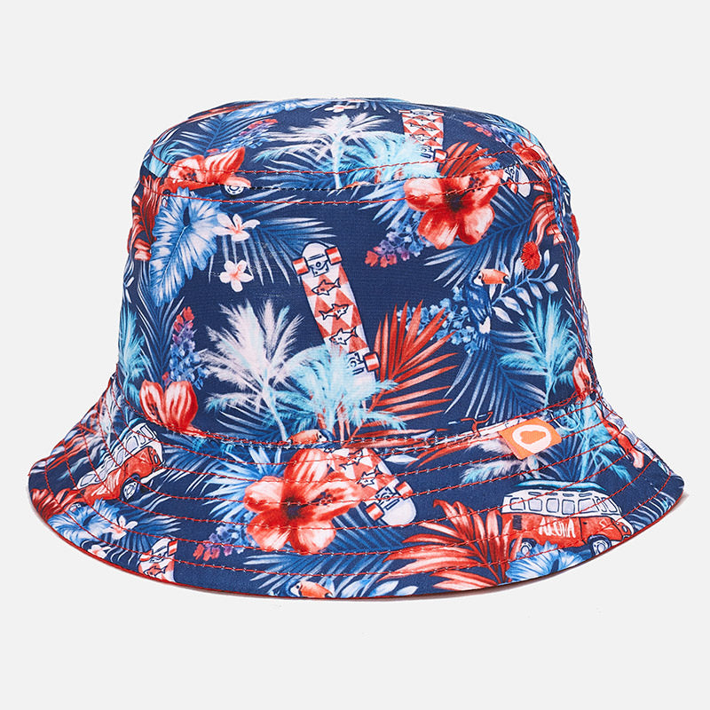 Reversible Tropical Sun Hat