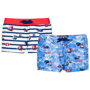 Mayoral - Fish Print Swim Shorts Set - kkgivingtree - K&K's