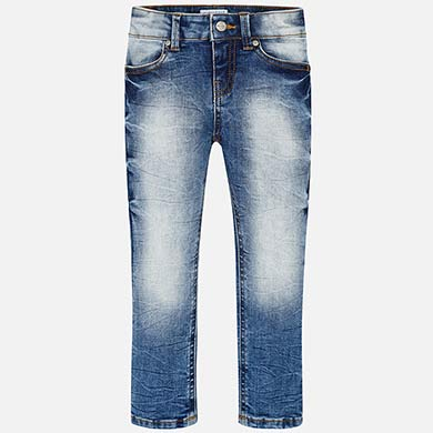 Basic Denim Skinny Jeans