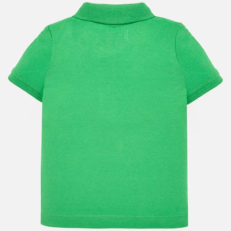 Green Short Sleeved Polo Shirt