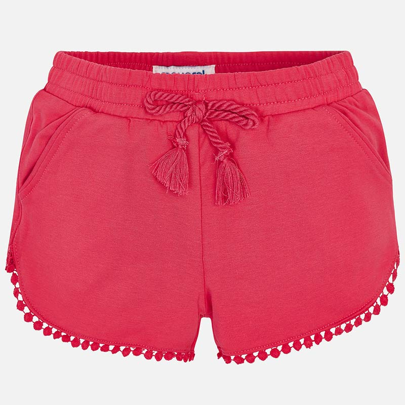 Hot Pink Knit Shorts