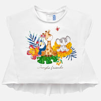 Jungle Friends Asymmetric T-Shirt