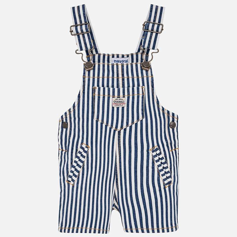 Striped Coveralls For Boys