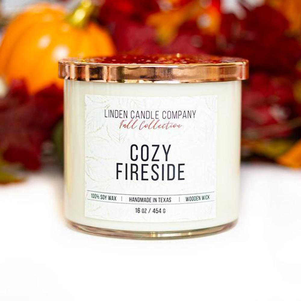 Cozy Fireside 16oz Candle