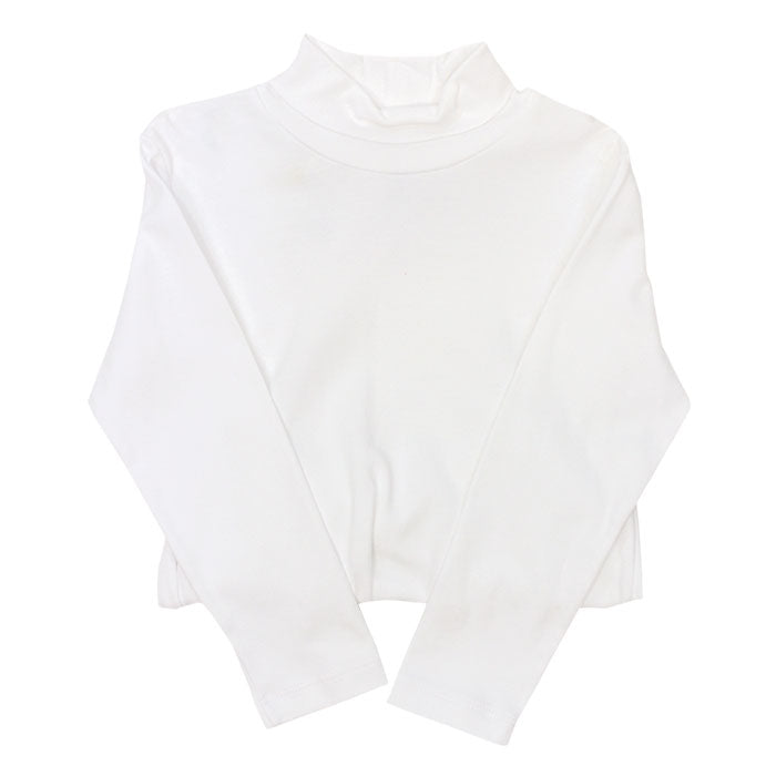 Unisex White Turtleneck
