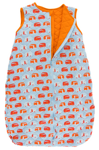 Pond Camper w/ Sunset Quilted Sleeping Bag