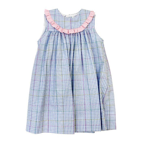 River Plaid Classic Collection Girls Float Dress