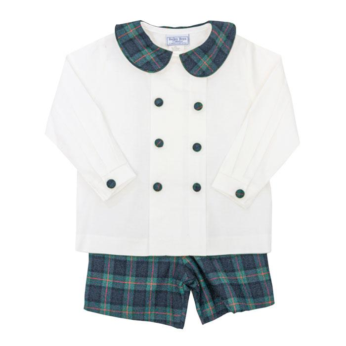 The Classic McNeill Plaid Boys Dressy Short Set