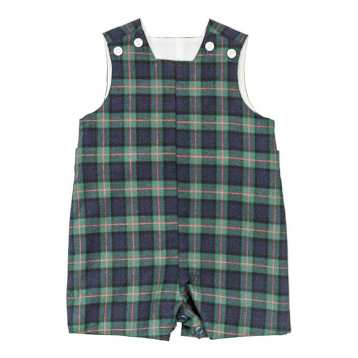 McNeill Plaid John John with Tabs