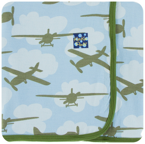 Pond Airplanes Swaddle
