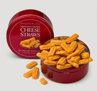 Traditional Cheddar Cheese Straws 16 oz. Gift Tin