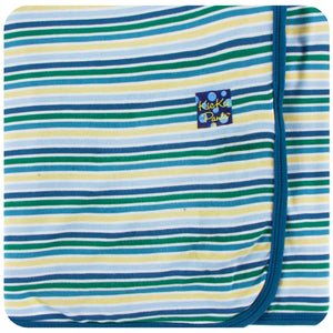 Boy Perth Stripe Swaddle