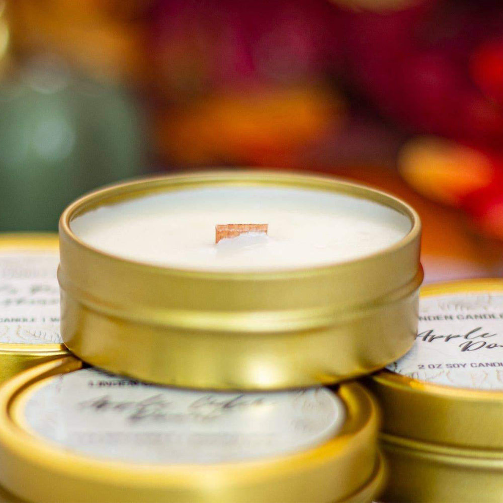 Spiced Chestnut 2oz Candle