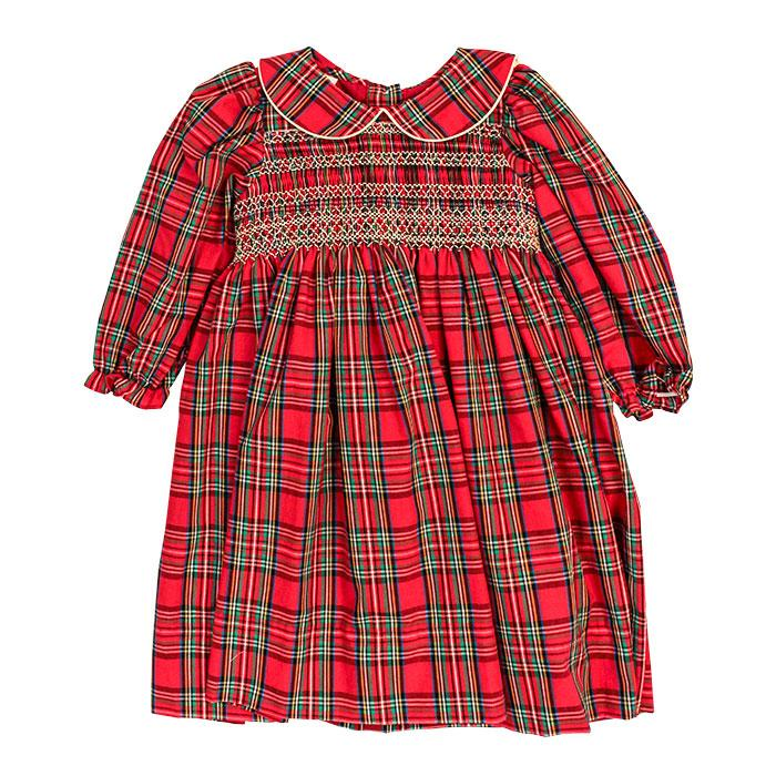 Holiday Plaid Tartan Dress