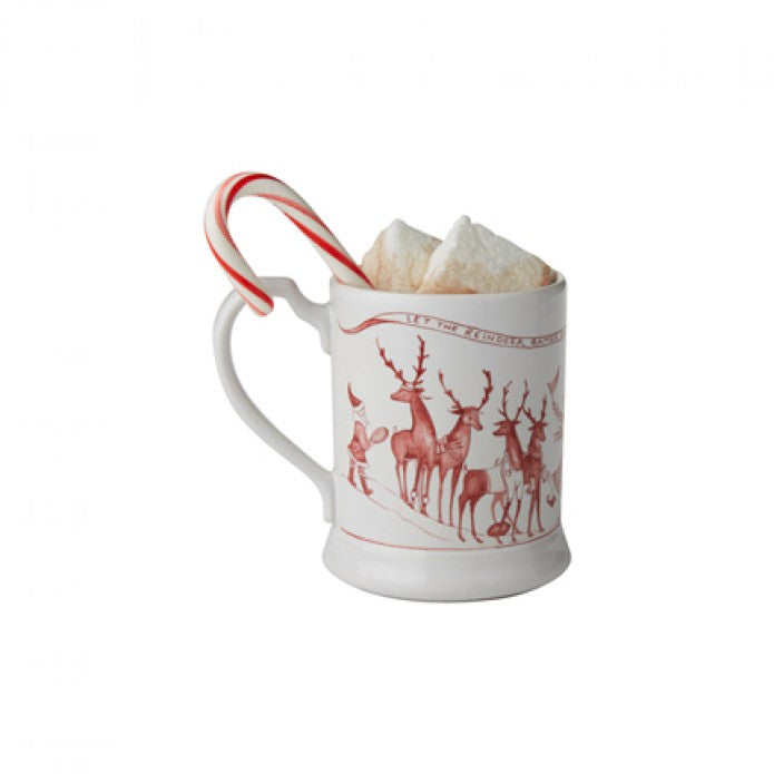 Country Estate Ruby Reindeer Games Mug