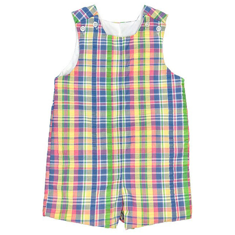 Pastel Plaid John John Short
