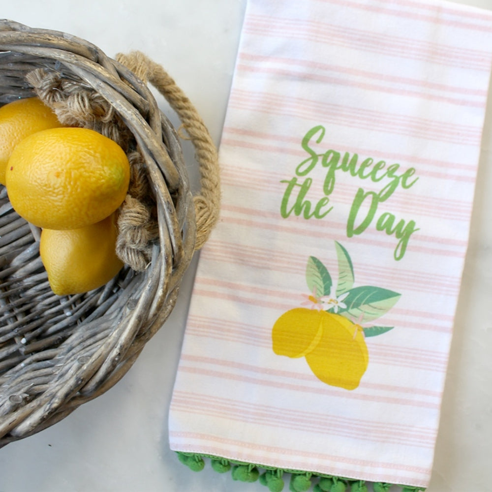 Squeeze The Day Hand Towel
