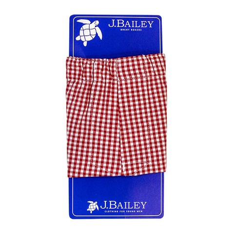 Red Checked Brent Boxers