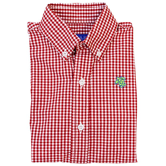 Tobasco Check Button Down Shirt