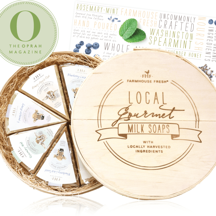 Local Gourmet Milk Soaps Set - Oprah Magazine Edition