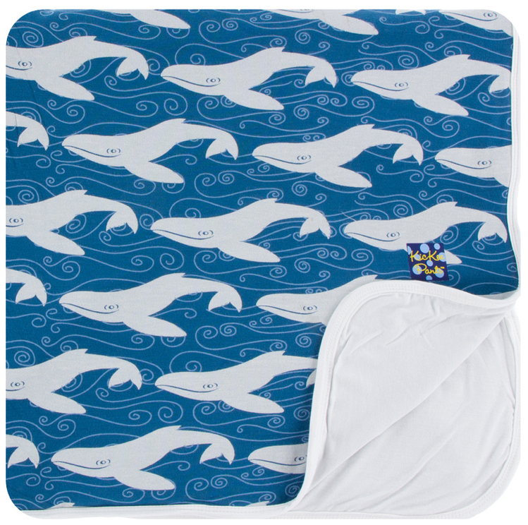 Twilight Whale Toddler Blanket