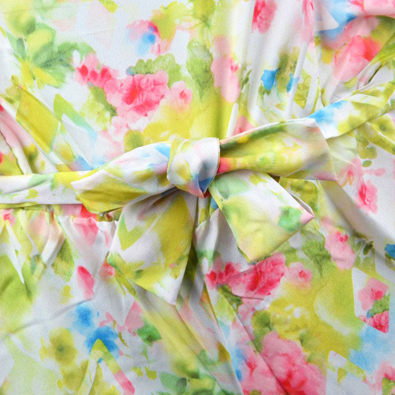 Mayoral - Floral Watercolor Romper - kkgivingtree