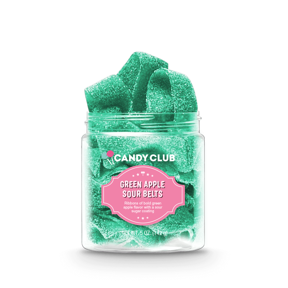 Candy Club - Green Apple Sour Belts