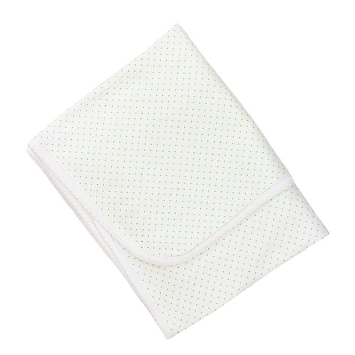 The Bailey Babies Green Dot Coordinating Blanket