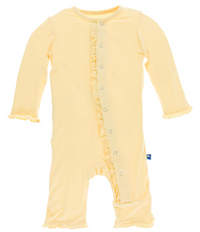 Wallaby Classic Ruffle Coverall w/ Snaps