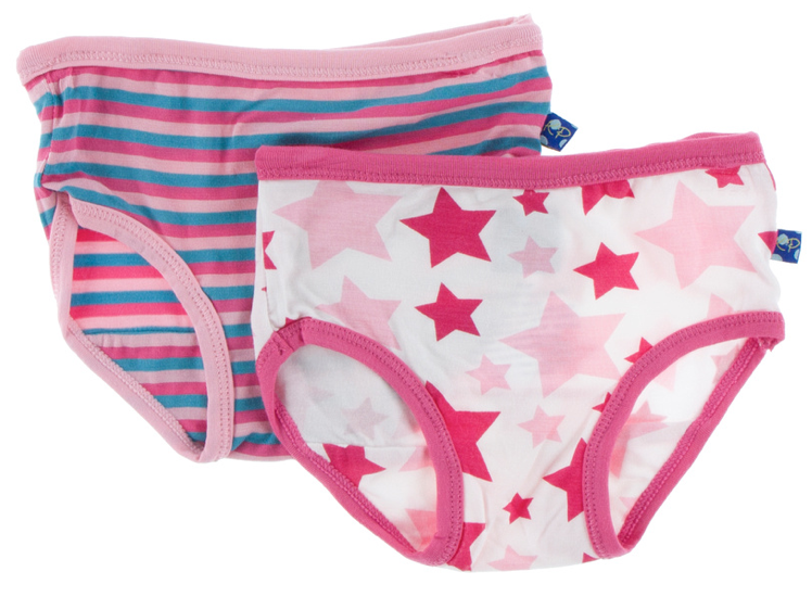 Underwear Set: Flamingo Anniversary Stripe & Flamingo Star